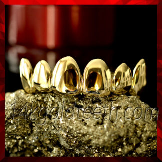 Top Yellow Gold Grillz