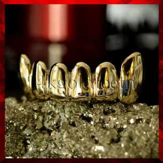 Bottom Yellow Gold Grillz